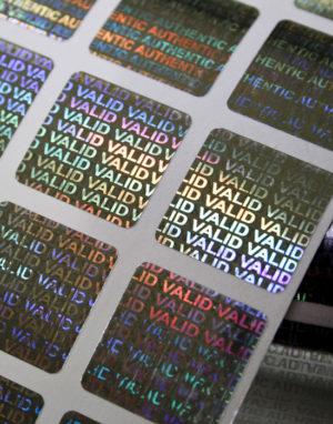Hologram Labels VALID