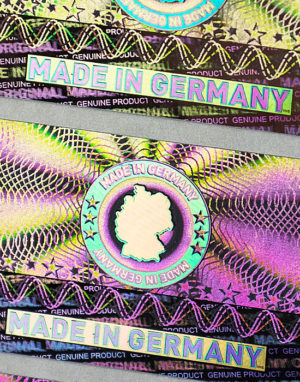 Made In Germany Hologramm