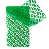 Sicherheitssiegel «VOID OPEN» hellgrün – 70x40 mm