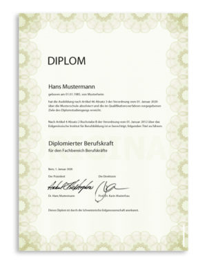 Security Paper Diploma